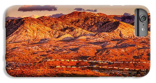 Red Planet IPhone 6 Plus Case by Mark Myhaver