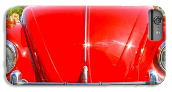 Classic iPhone 6 Plus Case - Red Vw by Georgia Fowler