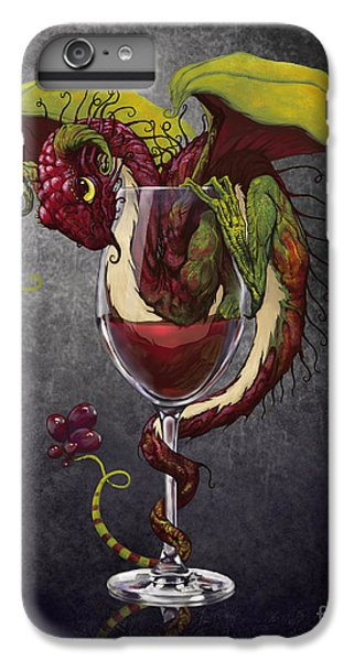 Dragon iPhone 6 Plus Case - Red Wine Dragon by Stanley Morrison