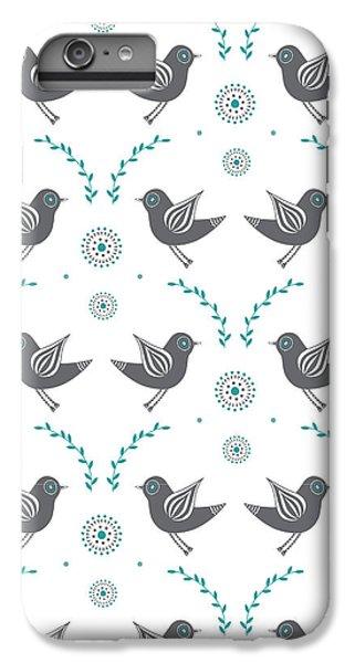 Repeat Lovebird IPhone 6 Plus Case
