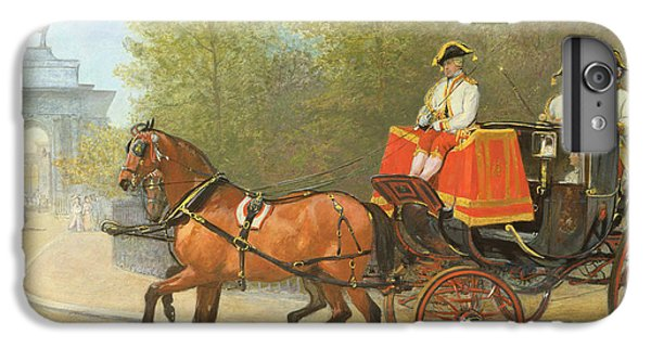 Returning From Her Majestys Drawing Room IPhone 6 Plus Case by Alfred Corbould