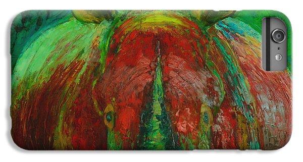Rhinocerus iPhone 6 Plus Case - Rhinocerus by Magdalena Walulik