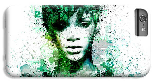 Rihanna 5 IPhone 6 Plus Case by Bekim Art