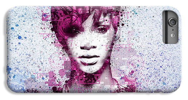 Rihanna 8 IPhone 6 Plus Case by Bekim Art