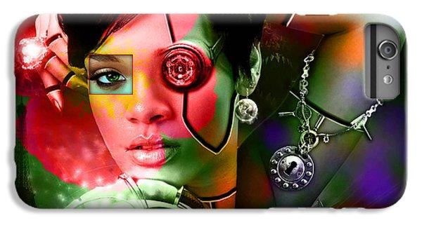 Rihanna Over Rihanna IPhone 6 Plus Case by Marvin Blaine