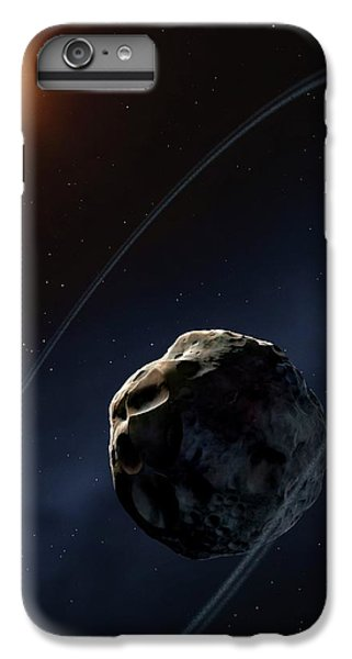 Ringed Asteroid Chariklo IPhone 6 Plus Case by Mark Garlick