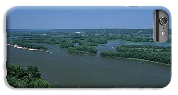 Marquette iPhone 6 Plus Case - River Flowing Through A Landscape by Panoramic Images