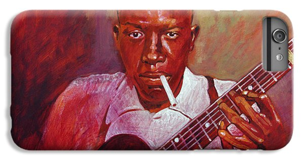 Robert Johnson Photo Booth Portrait IPhone 6 Plus Case by David Lloyd Glover