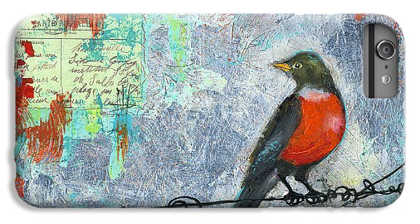 Robin Love Letter  IPhone 6 Plus Case by Blenda Studio