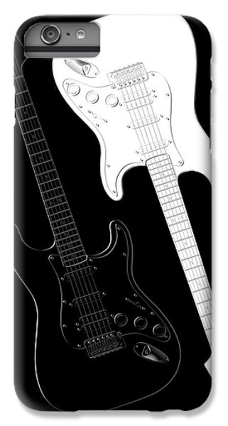Music iPhone 6 Plus Case - Rock And Roll Yin Yang by Mike McGlothlen