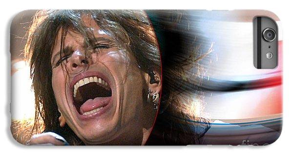 Rock N Roll Steven Tyler IPhone 6 Plus Case by Marvin Blaine