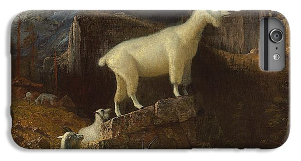 Rocky Mountain Goats IPhone 6 Plus Case by Albert Bierstadt