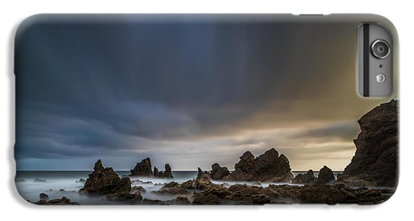 Planets iPhone 6 Plus Case - Rocky Southern California Beach 3 by Larry Marshall