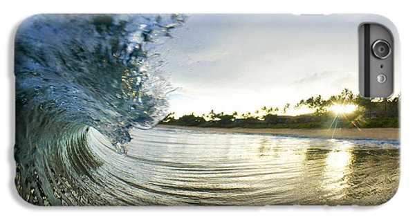 Water Ocean iPhone 6 Plus Case - Rolled Gold by Sean Davey