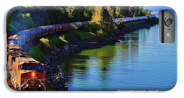Train iPhone 6 Plus Case - Rollin' Round The Bend by Benjamin Yeager