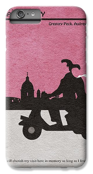 Audrey Hepburn iPhone 6 Plus Case - Roman Holiday by Inspirowl Design