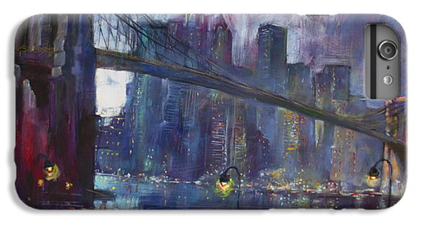 Central Park iPhone 6 Plus Case - Romance By East River Nyc by Ylli Haruni