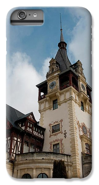 Romania Transylvania Sinaia Peles Castle IPhone 6 Plus Case by Inger Hogstrom