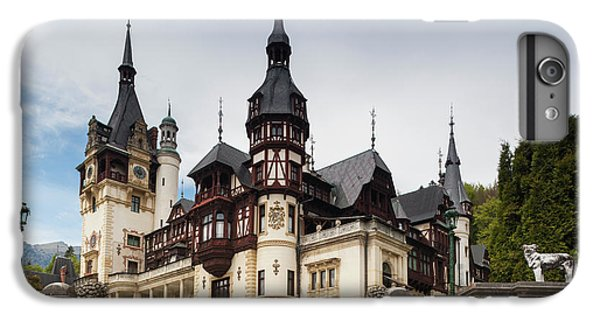 Romania, Transylvania, Sinaia, Peles IPhone 6 Plus Case by Walter Bibikow