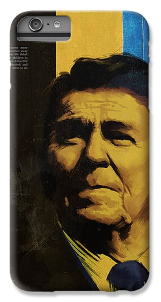 Ronald Reagan IPhone 6 Plus Case by Corporate Art Task Force