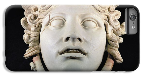 Rondanini Medusa, Copy Of A 5th Century Bc Greek Marble Original, Roman Plaster IPhone 6 Plus Case by .