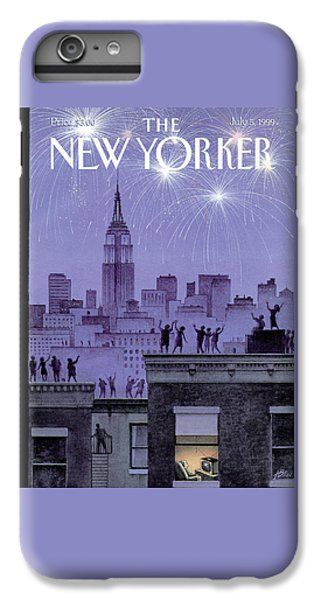 Rooftop Revelers Celebrate New Year's Eve IPhone 6 Plus Case