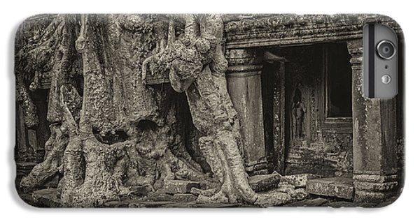 Roots In Ruins 7, Ta Prohm, 2014 IPhone 6 Plus Case by Hitendra SINKAR