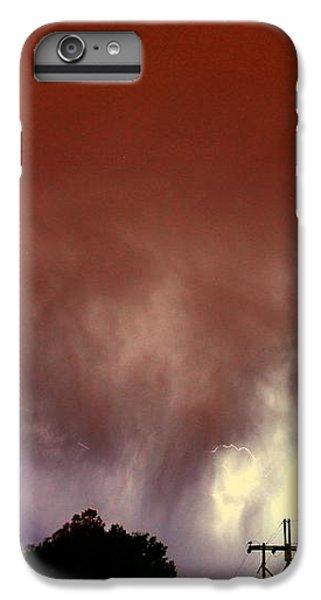 Nebraskasc iPhone 6 Plus Case - Rounds 2 3 Late Night Nebraska Storms by NebraskaSC