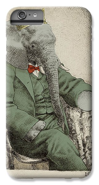 Animals iPhone 6 Plus Case - Royal Portrait by Eric Fan