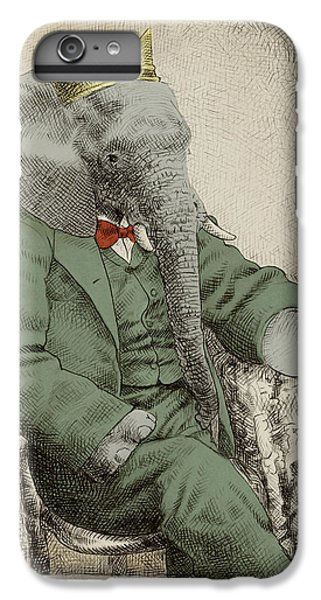 Animals iPhone 6 Plus Case - Royal Portrait by Eric Fan