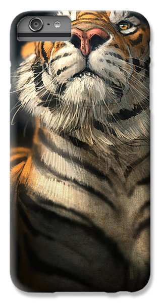 Tiger iPhone 6 Plus Case - Royalty by Aaron Blaise