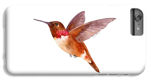 Rufous Hummingbird IPhone 6 Plus Case