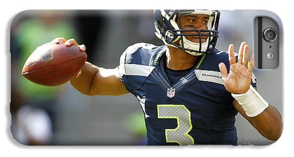Russell Wilson 2014 Super Bowl Painting IPhone 6 Plus Case