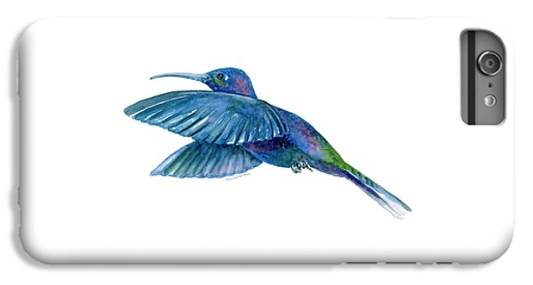 Sabrewing Hummingbird IPhone 6 Plus Case by Amy Kirkpatrick