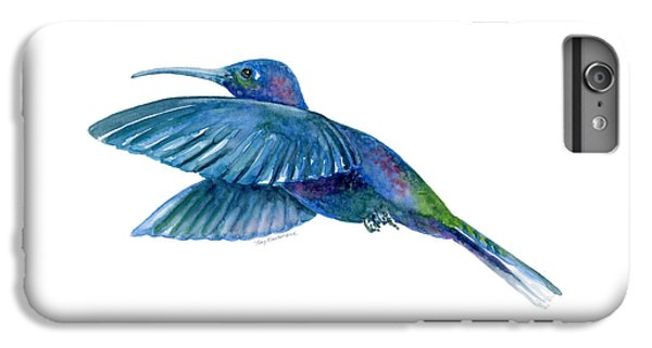 Sabrewing Hummingbird IPhone 6 Plus Case by Amy Kirkpatrick