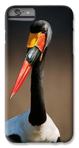 Stork iPhone 6 Plus Case - Saddle-billed Stork Portrait by Johan Swanepoel