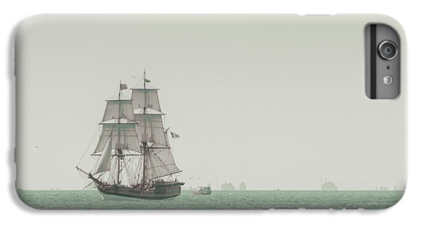 Boat iPhone 6 Plus Case - Sail Ship 1 by Lucid Mood
