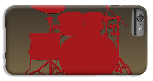 San Francisco 49ers Drum Set IPhone 6 Plus Case by Joe Hamilton