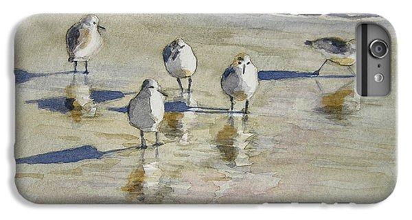 Sandpipers 2 Watercolor 5-13-12 Julianne Felton IPhone 6 Plus Case