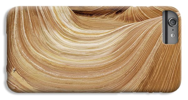 Nature Trail iPhone 6 Plus Case - Sandstone Lines by Chad Dutson