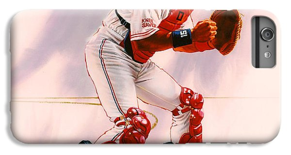 New York Mets iPhone 6 Plus Case - Sandy Alomar by Dick Bobnick
