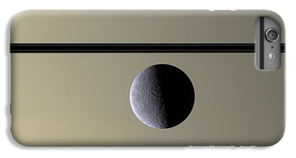 Saturn Rhea Contemporary Abstract IPhone 6 Plus Case by Adam Romanowicz