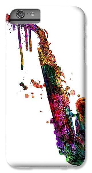 Saxophone iPhone 6 Plus Case - Saxophone 2 by Mark Ashkenazi