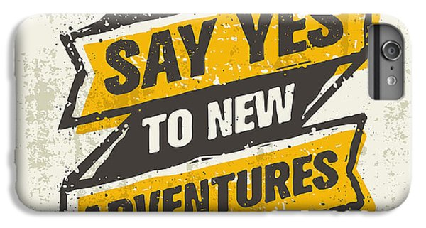 Nature Trail iPhone 6 Plus Case - Say Yes To New Adventure. Inspiring by Wow.subtropica