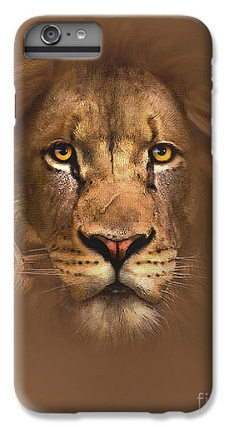 Lion iPhone 6 Plus Case - Scarface Lion by Robert Foster