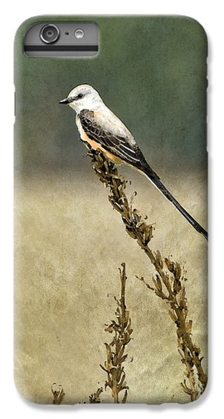 Scissortailed-flycatcher IPhone 6 Plus Case by Betty LaRue