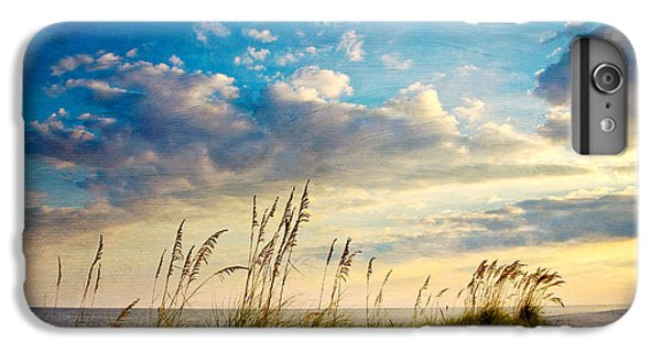 Beach iPhone 6 Plus Case - Sea Oats Sunset by Joan McCool