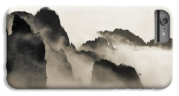Mountain iPhone 6 Plus Case - Sea Of Clouds by King Wu
