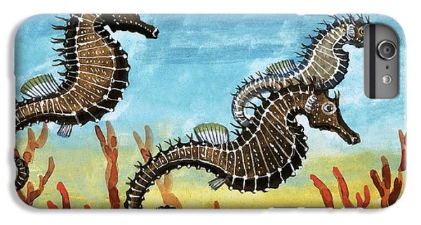 Seahorses IPhone 6 Plus Case by English School