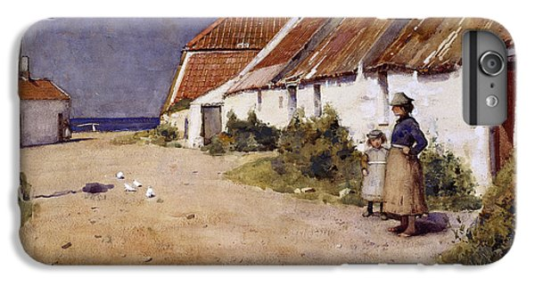 Seaside Cottages With Dovecot IPhone 6 Plus Case by Edward Arthur Walton